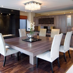 Walnut 3 Strip Engineered Wood Flooring